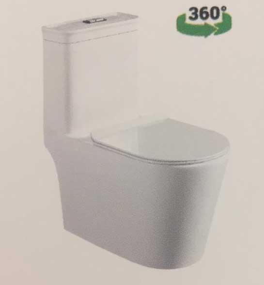 توالت فرنگی لوتوس مدل LT-518