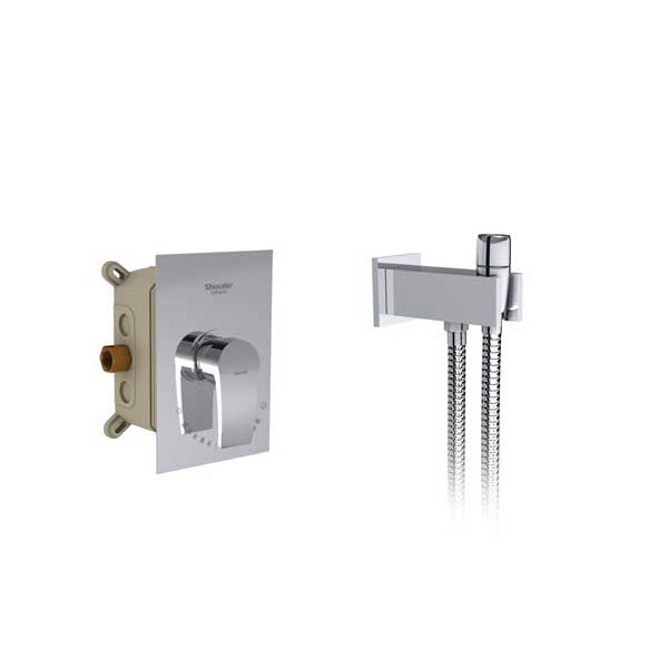 شیرآلات توالت توکار شودر Shouder مدل رومر