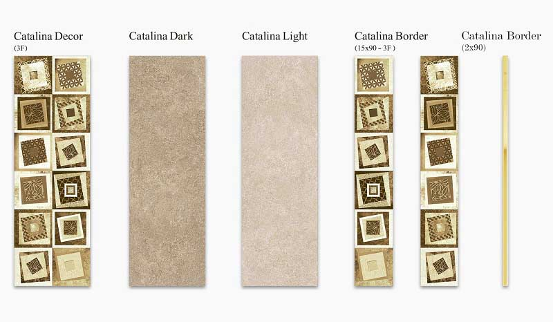 انواع کاشی سرامیک Boom Ceramic طرح کاتالینا